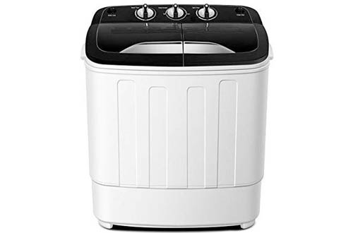Think Gizmos TG23 Portable Washing Machines - Twin Tub Washer Machine with Wash and Spin Cycle