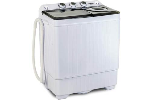 KUPPET Compact Twin Tub Portable Washing Machines with Washer
