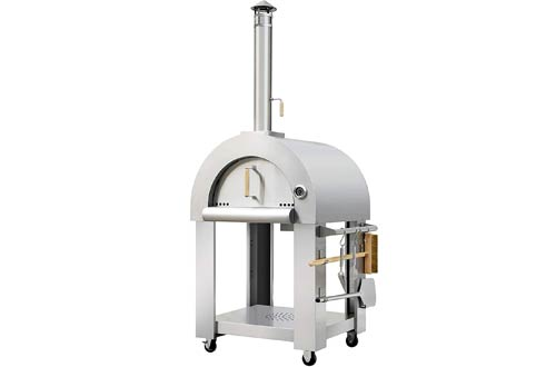 Thor Wooden Fired Stainless Steel Artisan Indoor/Outdoor Pizza Ovens