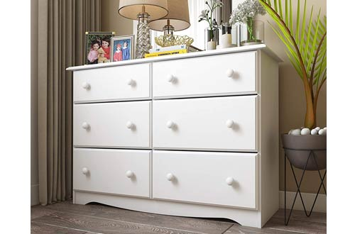 Solid Wood Dressers for Bedroom